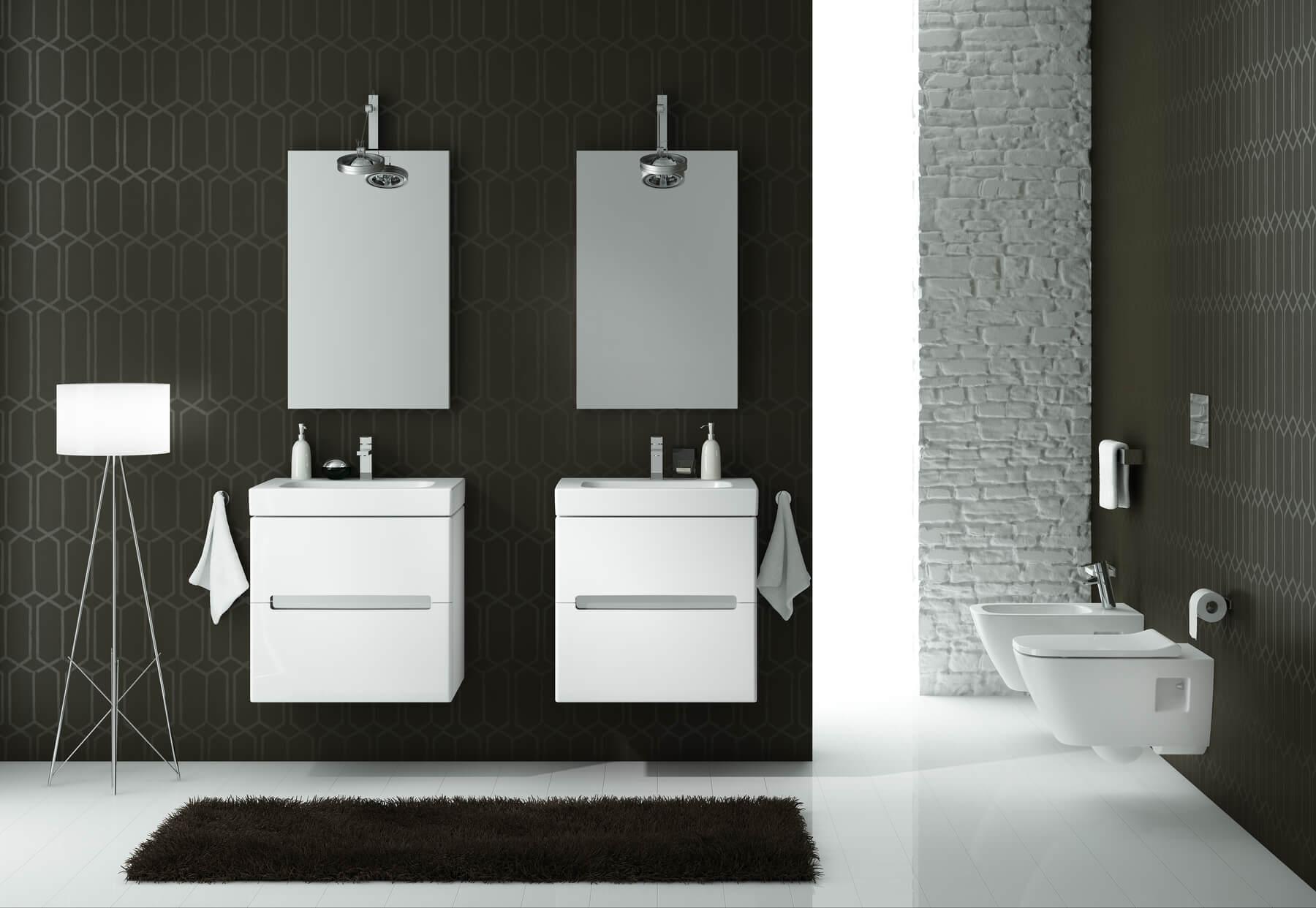 Ekskluzywna seria mebli łazienkowych i ceramiki KOŁO Modo